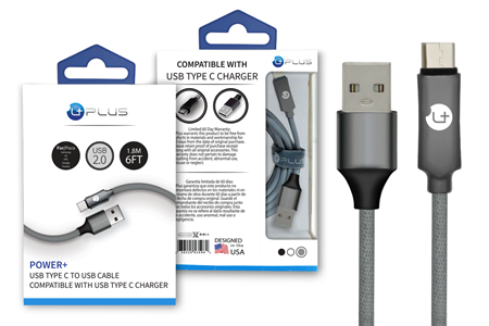 Picture of Power+ USB Type C to USB Cable