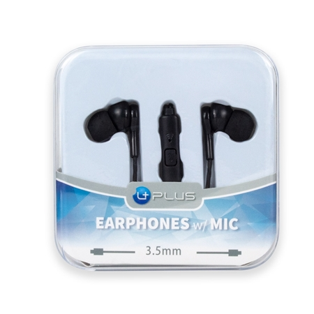 Picture of Earphones w/ Mic (Crystal Case)